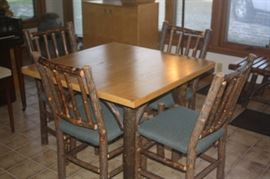 rustic hickory furniture