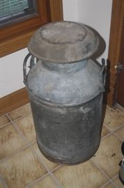OLD METAL MILK CAN