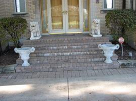 Grand entryway...