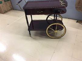 Cherry tea cart!