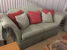 sofa (two available) by Hickory chair