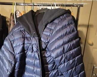 Burberry winter down jacket