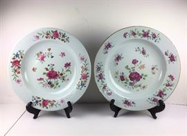 Chinese export plates