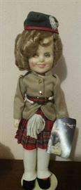 Shirley Temple Wee Willie Winkle doll, no box
