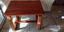 Teak end table, SunCabinet, Thailand. $150