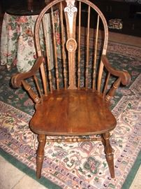 Windsor chair, turn of century 1912-1937, OwenSound Chair Company, Ottawa Canada  $250