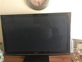 50 inch Panasonic HDTV with manual.