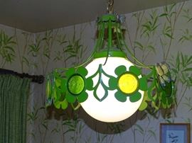 Vintage daisy lighting fixtures