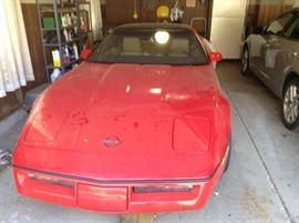 1985 Corvette