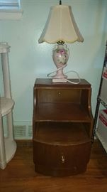 $50   1950's bedside table