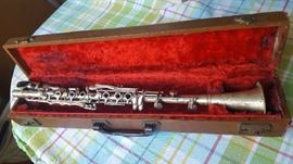 $90    Clarinet with case