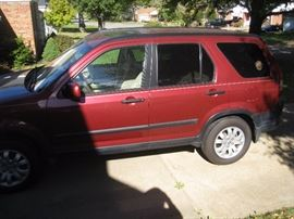 2006 Honda EX CR-V, 4 WD   5 speed auto