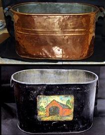 Copper and galvanized boilers