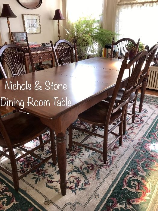 Stone Dining Room Table
