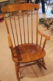 Salem maple rocking chair (by Boling)