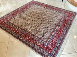 6.5x6.5 Iranian rug
