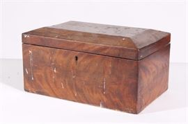 Antique Rosewood Box