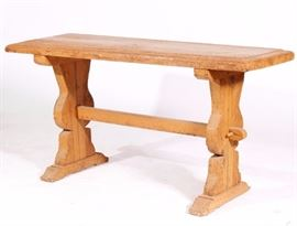 Antique Style Trestle Table