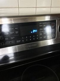Sumsung electric range