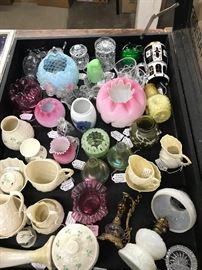 Irish Belleek, Waterford Crystal, Fenton and Victorian Art Glass