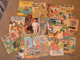 vintage children's books