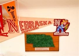 Sports Memorabilia--College Football, Nebraska