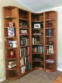 Scandinavian Teak Bookshelves