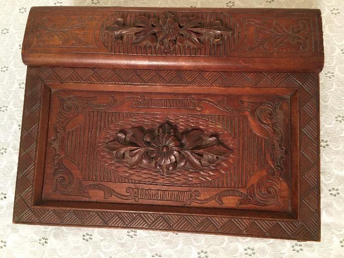 Beautiful Victorian Writing Box