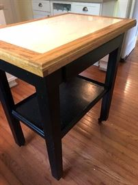 Small sturdy kitchen island $60