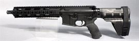 "Radical Firearms Model RF-15 .556 Pistol, 5.56 Nato, SN# S-NRD09012, with 10.5"" Barrel, Hogue Pistol Grip, Sig Brace, Unfired"