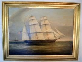 "Choice Clement Drew O/C of the Ship ""Bark Fanny Buck"""
