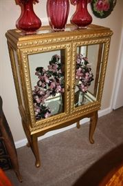 Beautiful small curio cabinet