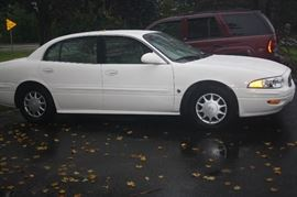 2004 Buick Custom Le Sabre 75,000 MILES ~ 6 Cylinder 3800 Series 2 New Tires , No dings or Dents White Exterior Cloth Interior Vin # 1G4HP52K244120998