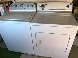 Like New Whirlpool Washer                                                         Kenmore Dryer
