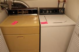 washer and dryer gas