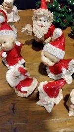 RARE Spaghetti  Santas