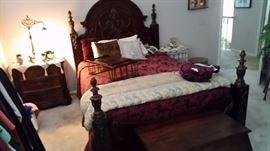 Gorgeous bedroom furniture.