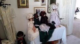 Lovely collectible dolls.