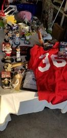 Bobbleheads, jerseys, and other fun Storm souvenirs.