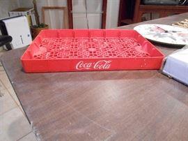 Coke tray