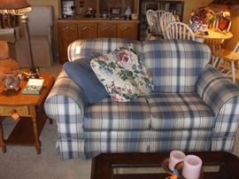 There are 2 of these loveseats
