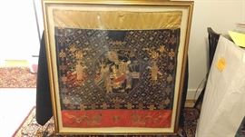 Framed Japanese Tapestry