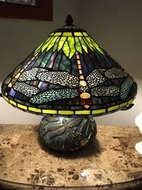 stunning stained glass lamps!