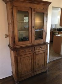 Antique French Country hutch ca 1875