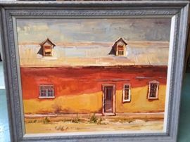 Don Sahli oil on canvas