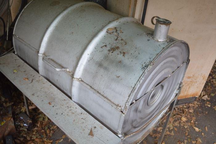 Homemade Barrel BBQ Pit