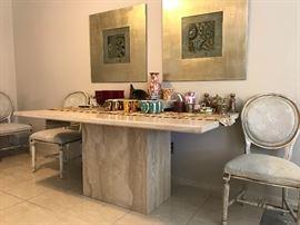 Dining Table Vignette