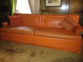 Fabulous leather sofa
