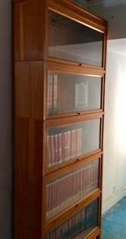 Barrister Lawyer's Stacking Bookcase - 5 Stack