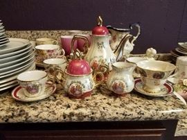 German or Austrian vintage tea set